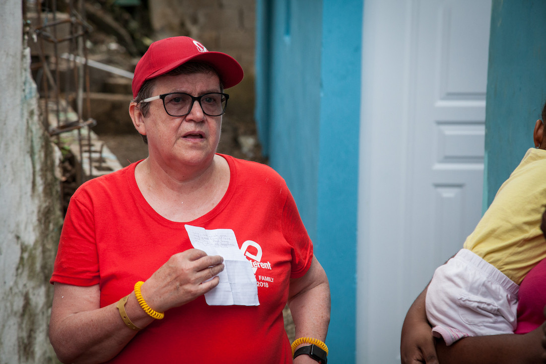 Hope is Spreading Through the Island, in Memory of Eileen Jackson